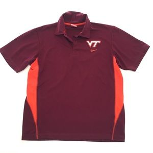 Nike Virginia Tech Athletic Polo